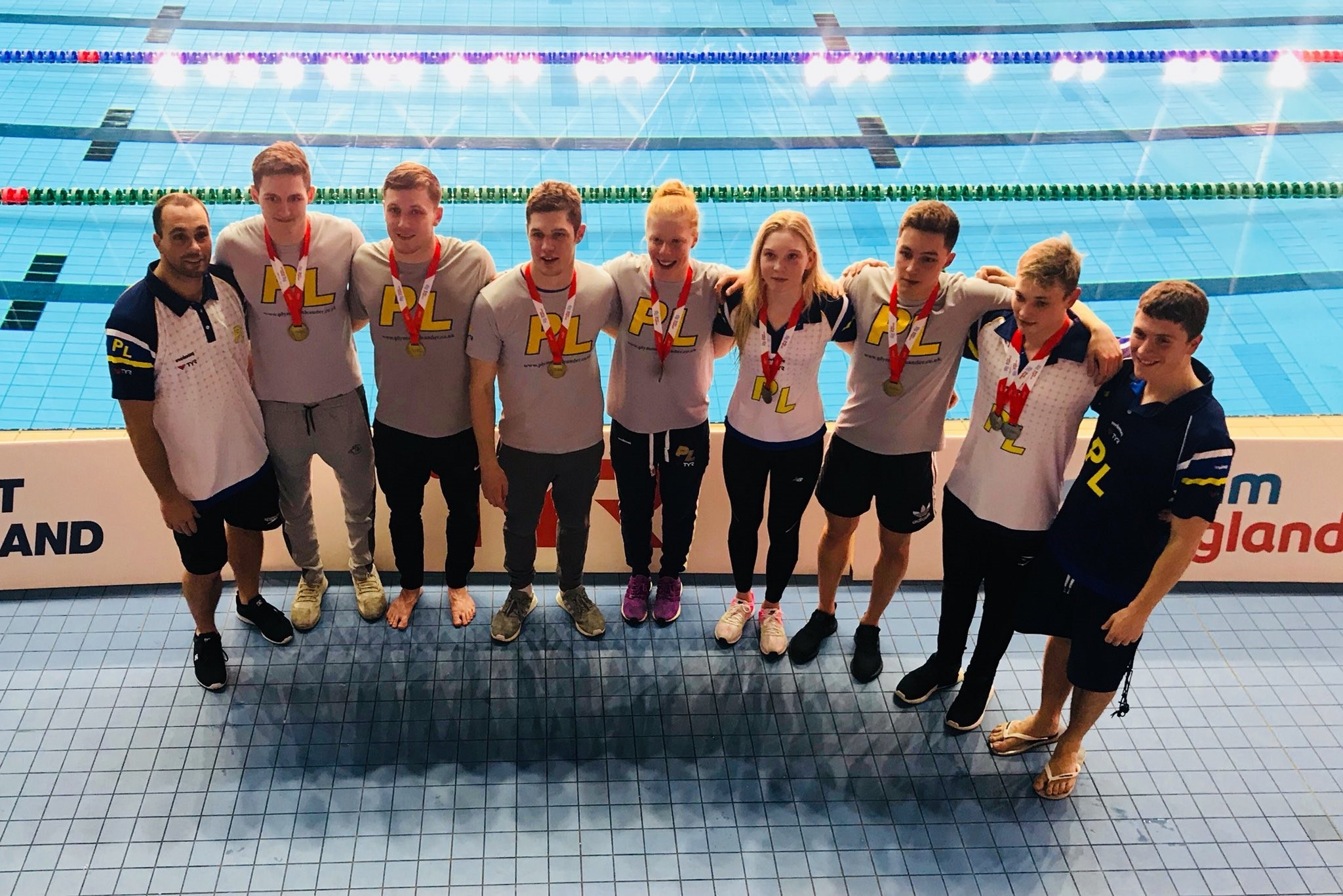 Plymouth Leander swimmers take three titles in one night at the English National Championships