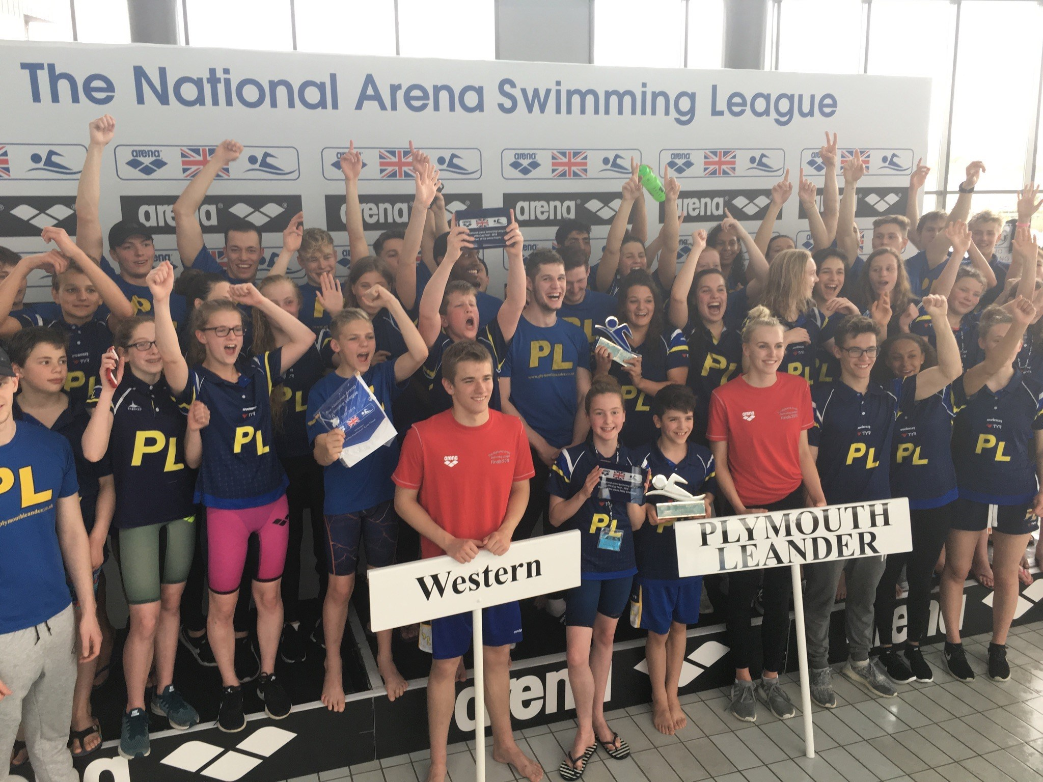 Plymouth Leander dominate final to become national club champions