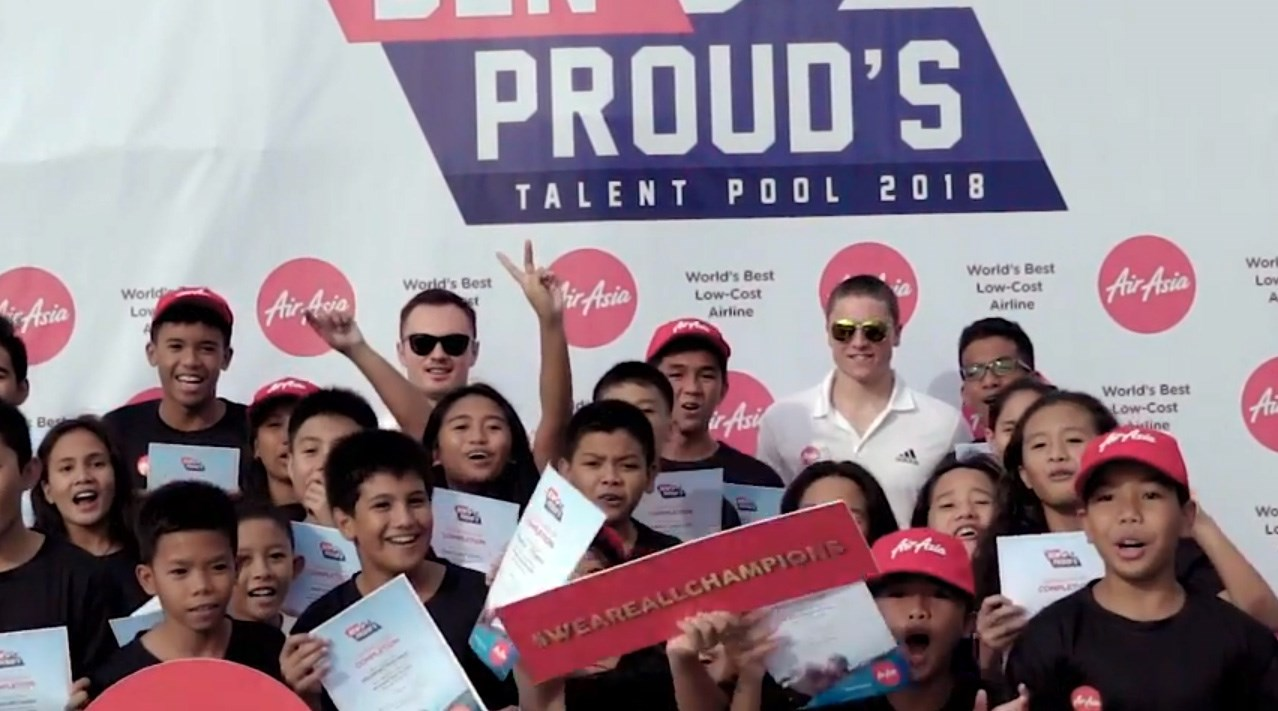 AirAsia Presents Ben Proud's Talent Pool 2018 - Cebu Clinic Recap